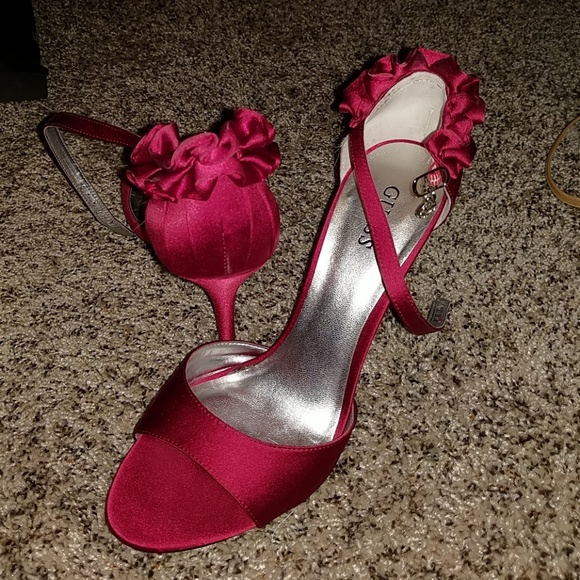 Guess Shoes - Brand new Guess satin heels